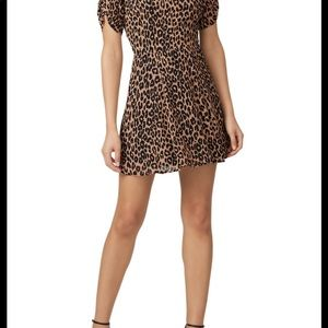 Reformation leopard print Gracie dress